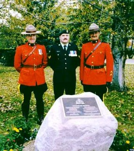 IN MEMORY OF SGT. R. H. NICHOLSON (RCMP)